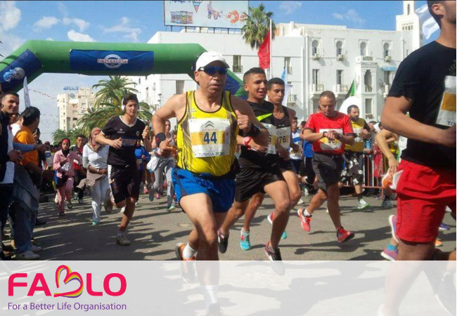 Co-organization of the semi-marathon international of the city of Sfax 2014-2015
